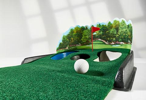 Golf Putting Mat With Ball Return Electronic Return Putting Mat