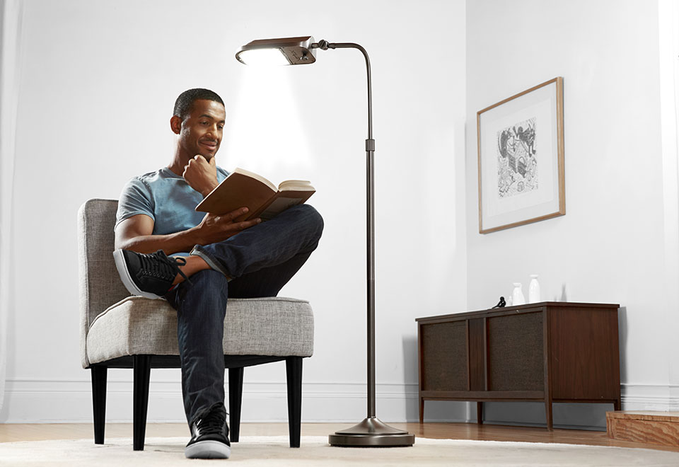 Natural Spectrum Floor Lamp Sharper Image