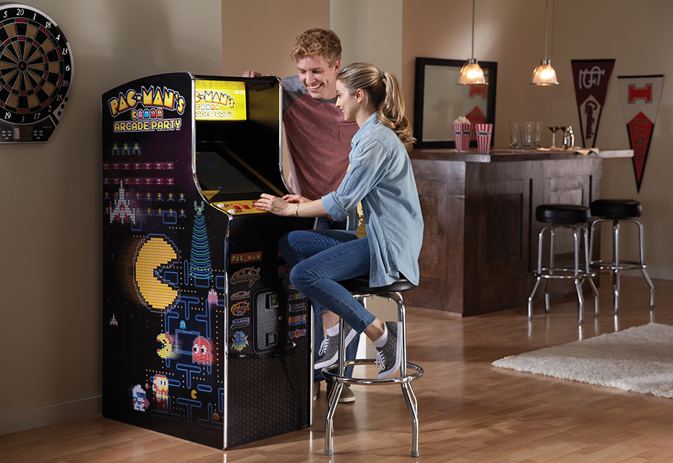 Gamer Man Cave Gifts : Pac man s arcade party sharper image
