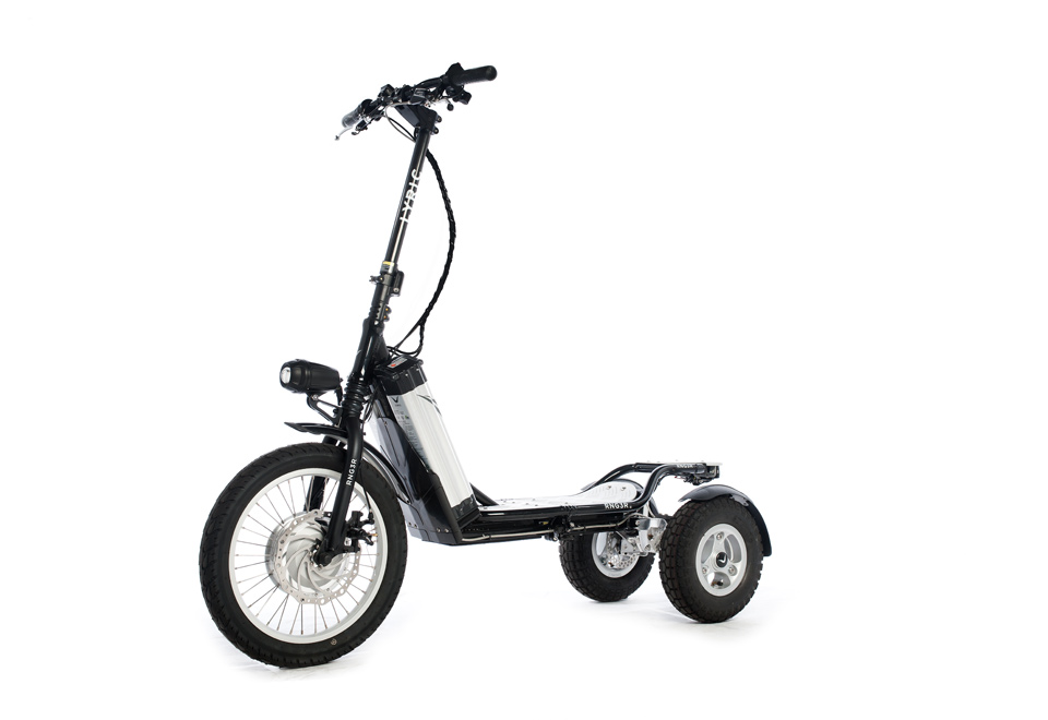 electric powered scooter   sharper image