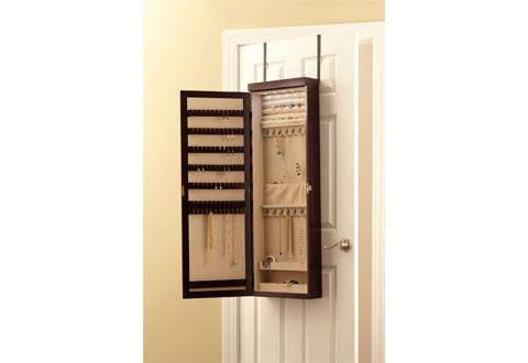 Over The Door Jewelry Armoire Sharper Image