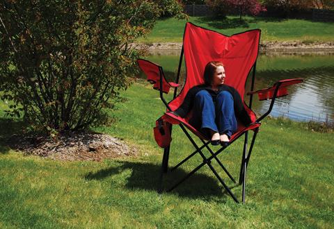 Oversized Folding Chair Sharper Image