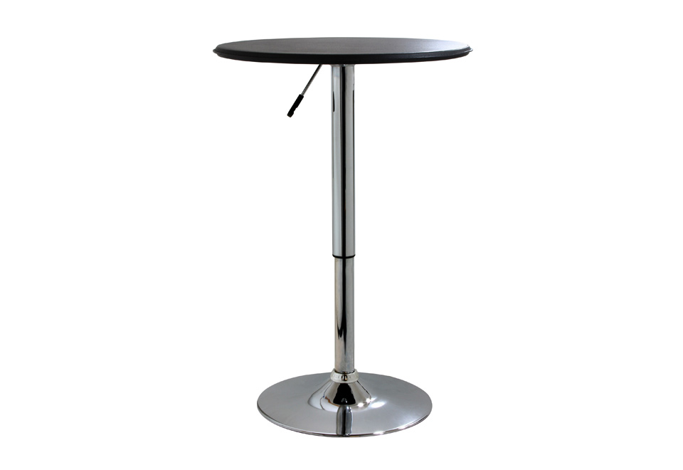 Adjustable bistro table