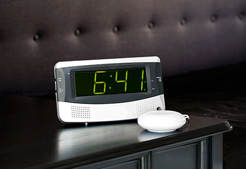 Alarm Clock For Heavy Sleepers Sharper Image