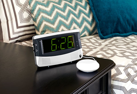 sharper image alarm clock manual