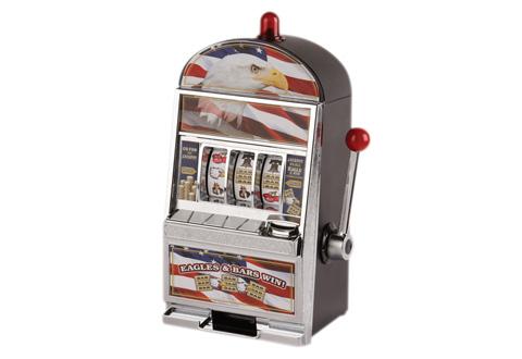 Vaardigheid slot machine bank