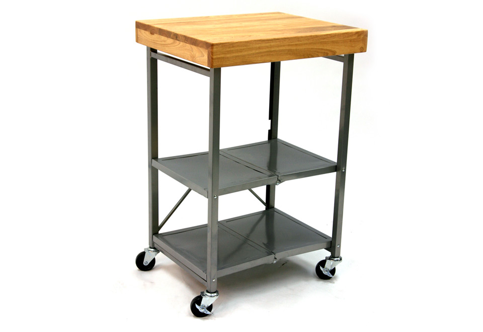 Folding cart usa for Collapsible kitchen cart