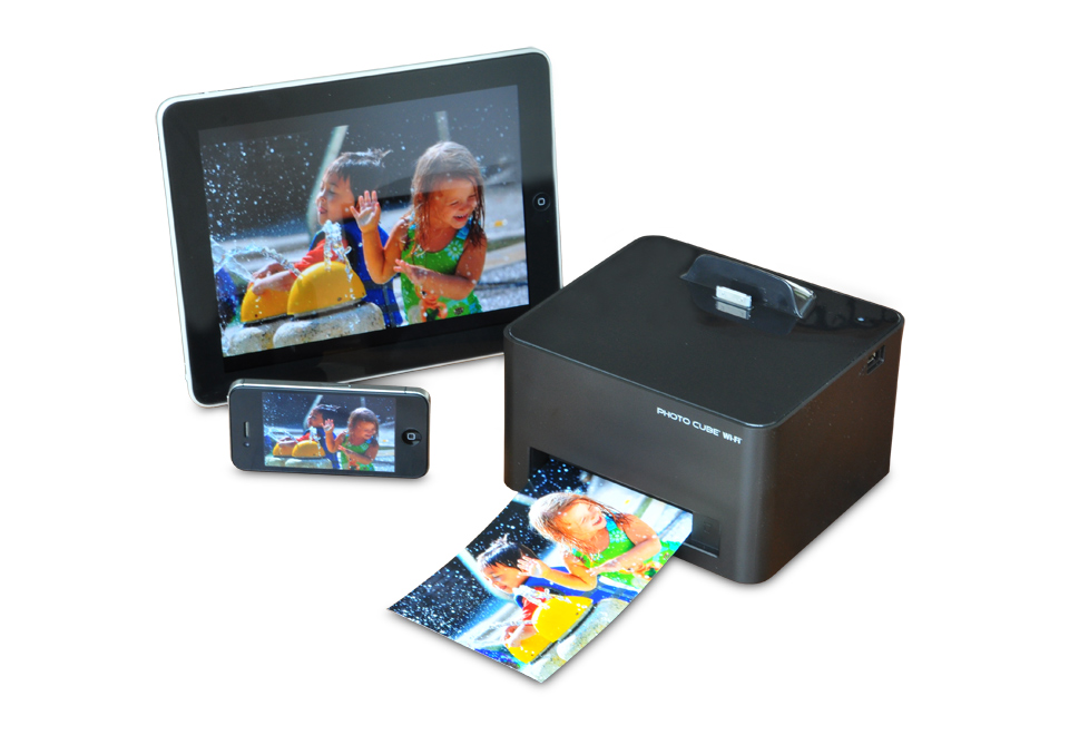 and on… smartphone photo cube printer with wifi deliveries never met