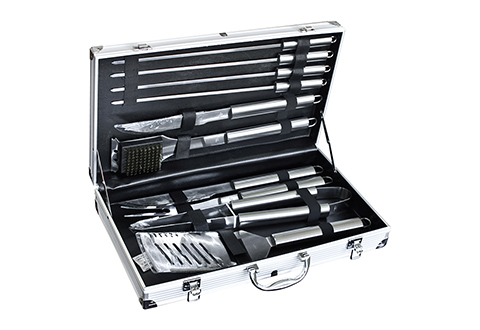 24 Piece Bbq Tool Set Sharper Image