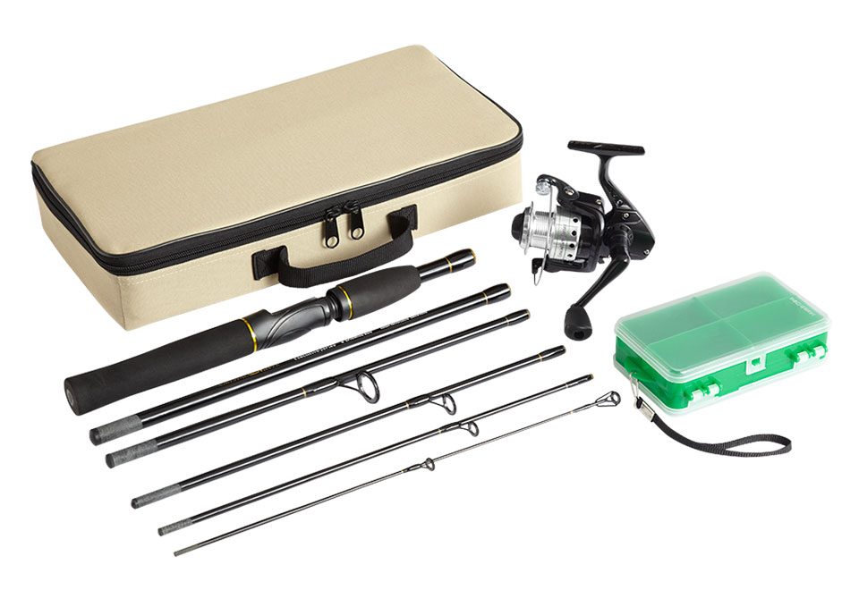travel fishing kit sharper image