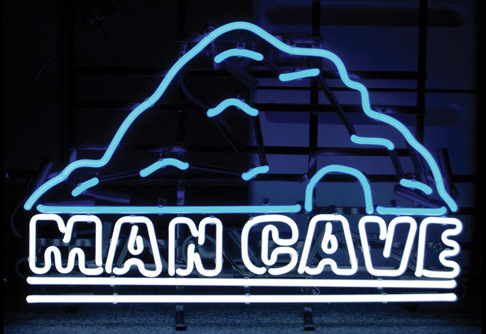 Man Cave Neon Sign @ Sharper Image