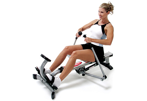 Portable Rowing Machine.