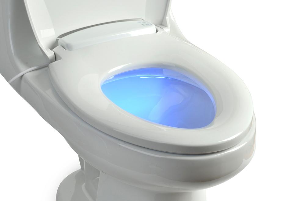 Heated Toilet Seat W Nightlight Sharper Image