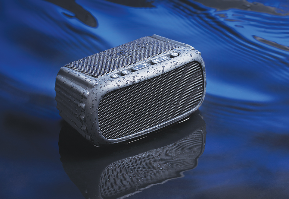 Waterproof Floating Speaker Sharper Image