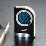 Travel Sleep Sound Machine With Alarm Sharper Image