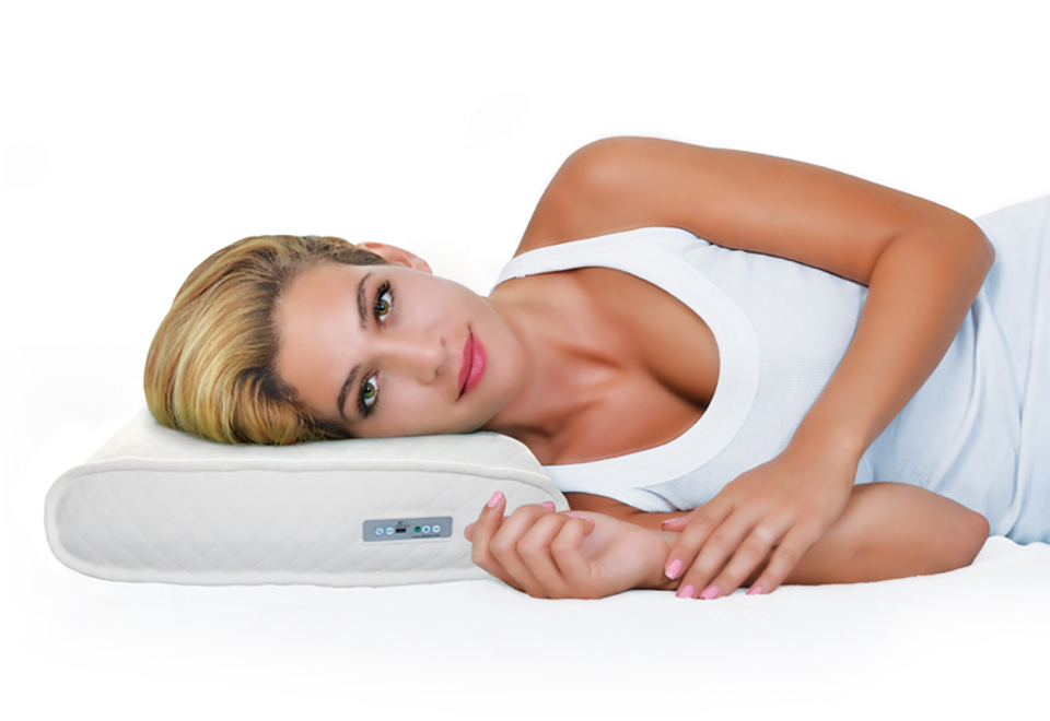 Memory Foam Sound Therapy Pillow Sharper Image