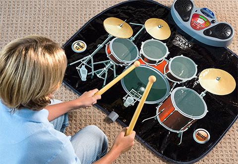 Rock N Roll Electronic Drum Mat Sharper Image
