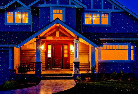 Landscape Laser Light Projector Sharper Image