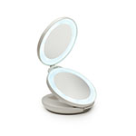 15x Magnifying Folded Lighted Mirror Sharper Image