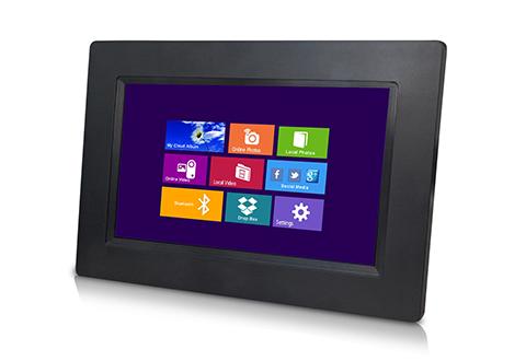 """7"""" Bluetooth Wi-Fi Digital Picture Frame @ Sharper Image"""
