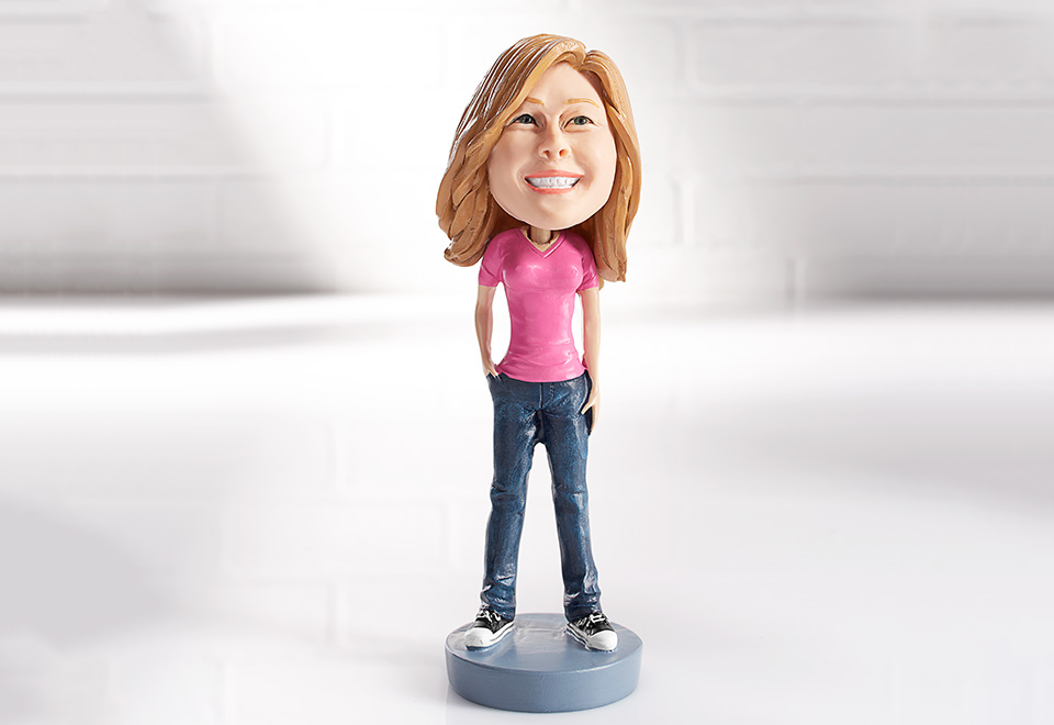 Her Custom Bobble Head