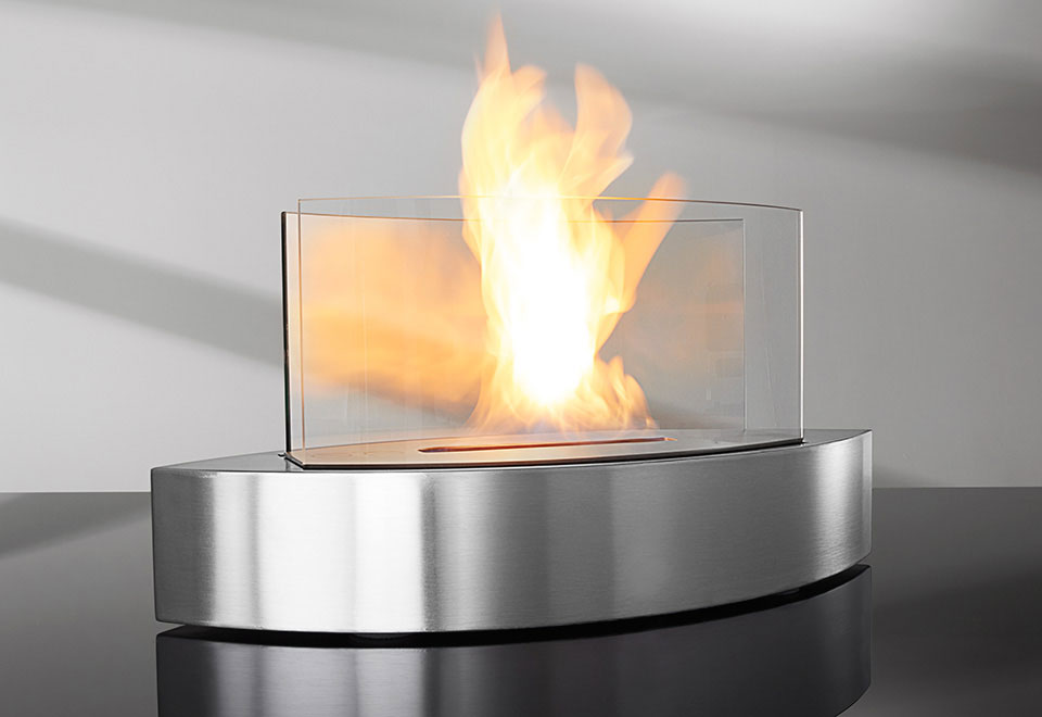 Upc 898392002159 Anywhere Fireplace Lexington Tabletop Ethanol Fireplace In Black High Gloss