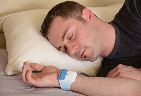 Sleep Improving Wristband Sharper Image