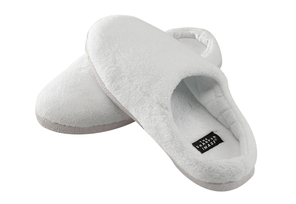 Outlast Memory Foam Slippers For Women Sharper Image