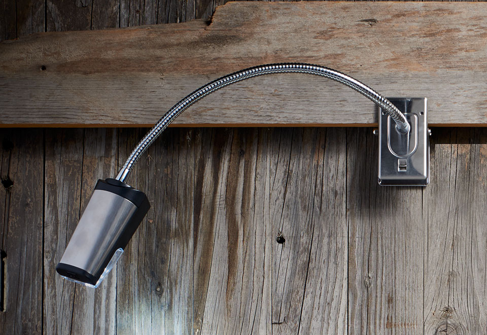 Cordless Outdoor Grill Light Sharper Image