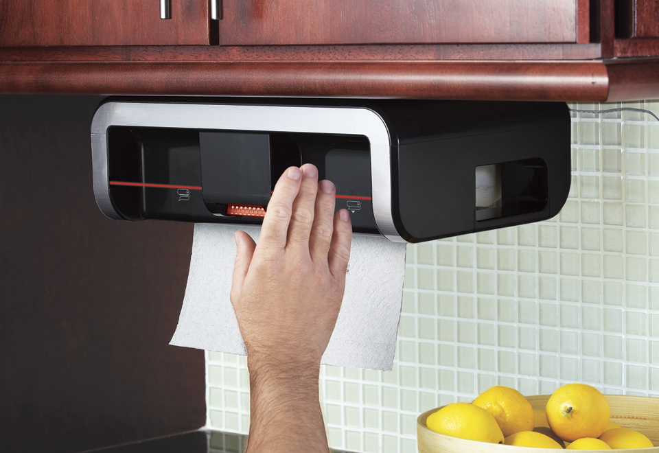 Clean Cut Automatic Paper Towel Dispenser @ Sharper Image