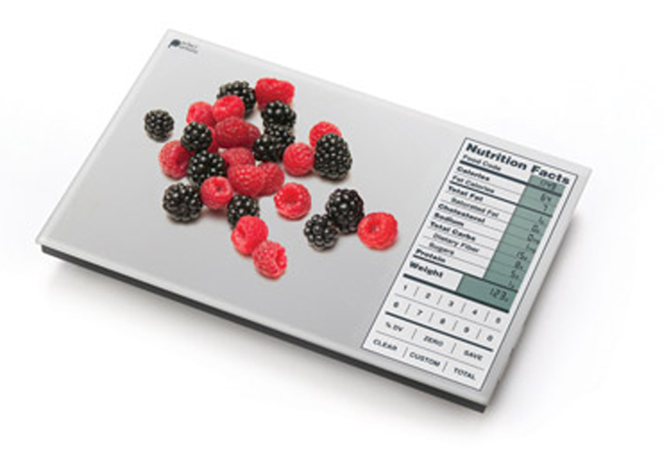 sharper image digital food scale manual