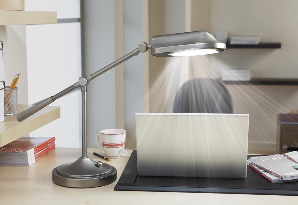 Natural Spectrum Desk Lamp Sharper Image