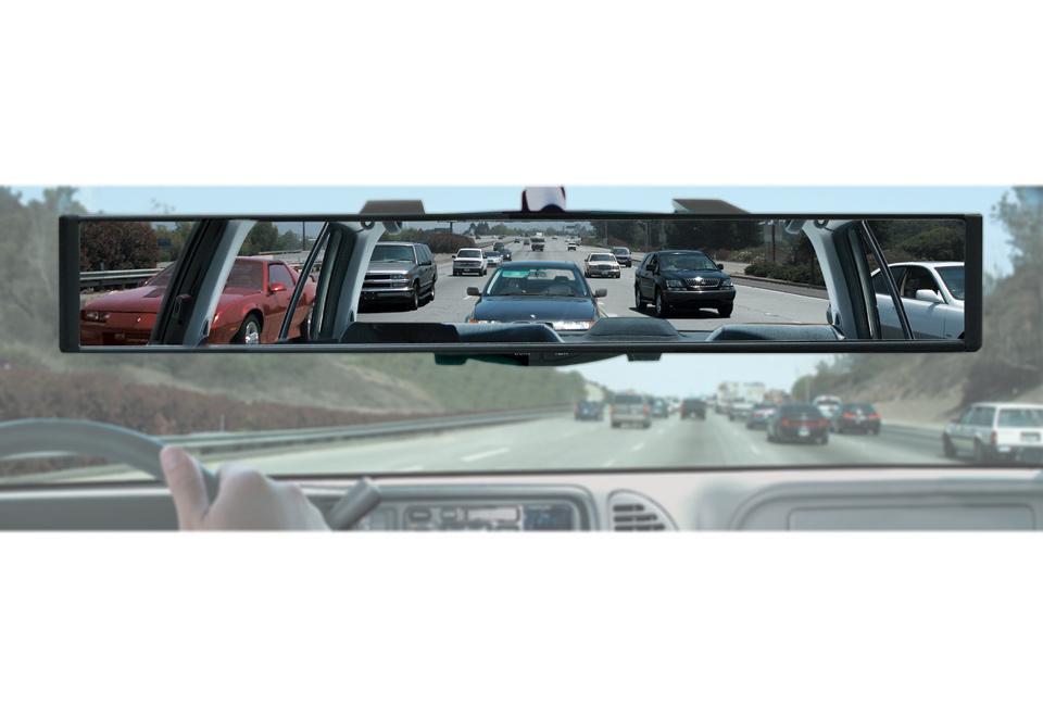 Panoramic Rearview Mirror Sharper Image
