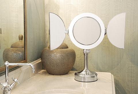 All View Bathroom Mirror Sharper Image