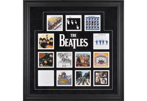The Beatles Framed UK Album Covers @ Sharper Image