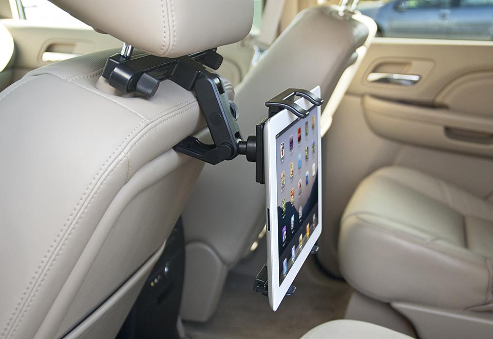 Universal Tablet Headrest Mount @ Sharper Image