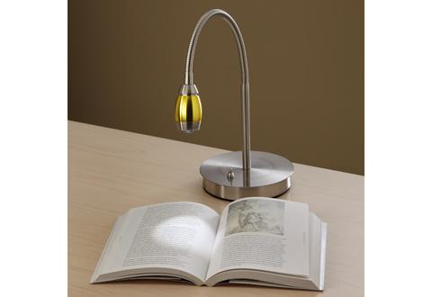 focused beam natural light desk lamp sharper image. Black Bedroom Furniture Sets. Home Design Ideas