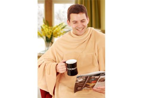 Heated Wearable Blanket Sharper Image