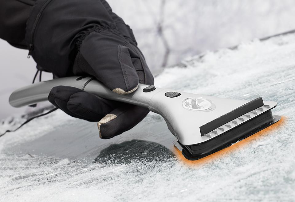 Heated Ice Scraper Sharper Image