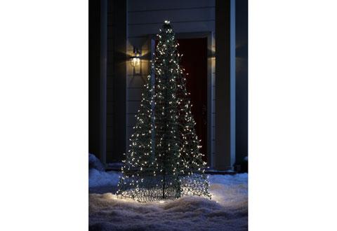 Versatile Fold Flat Christmas Tree (6-ft.) @ Sharper Image