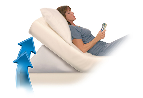Adjustable Bed Wedge Pillow Sharper Image