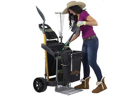 Rolling Garden Cart Sharper Image