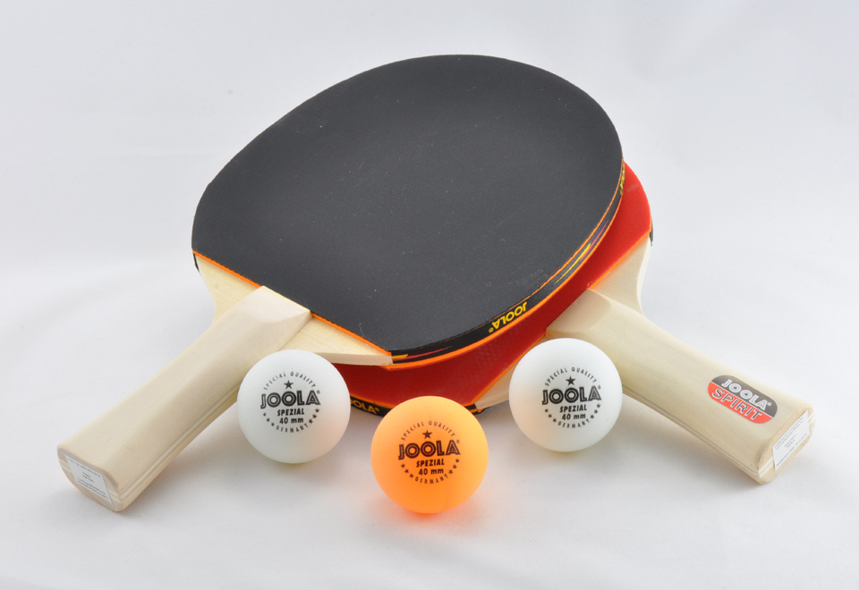 Ping Pong Paddle And Ball Set Sharper Image