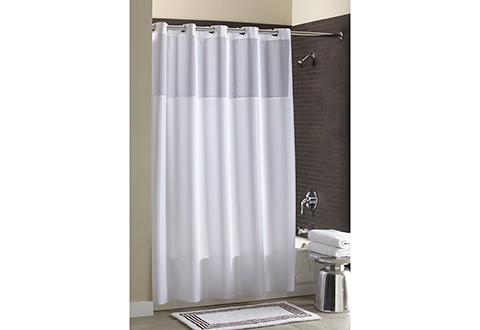 Mildew Resistant Shower Curtain @ Sharper Image