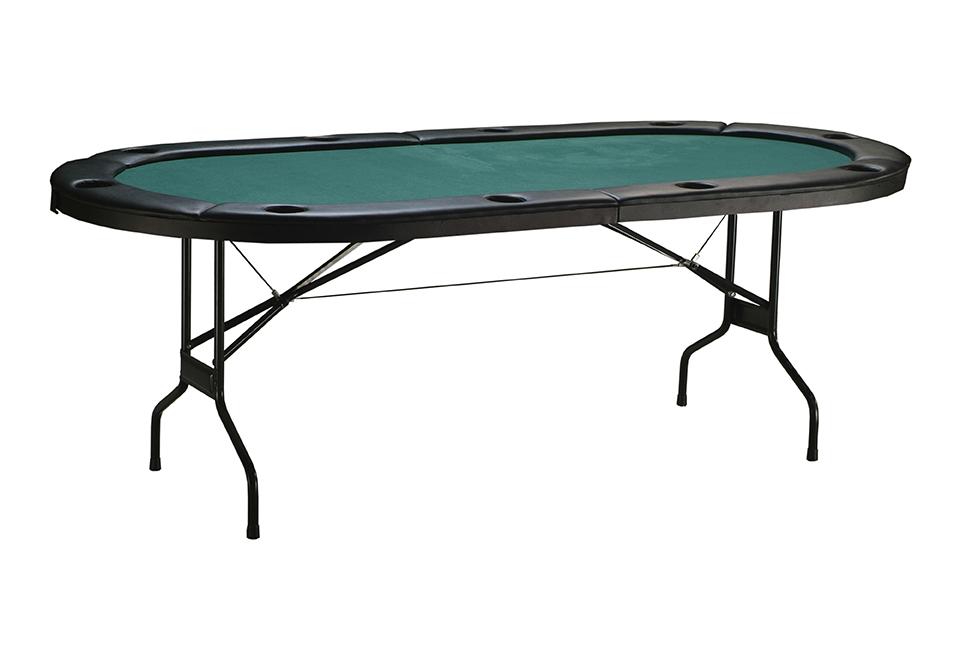 Folding poker table sharper image for 10 person folding poker table