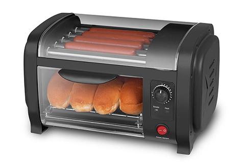 all star hot dog maker sharper image. Black Bedroom Furniture Sets. Home Design Ideas
