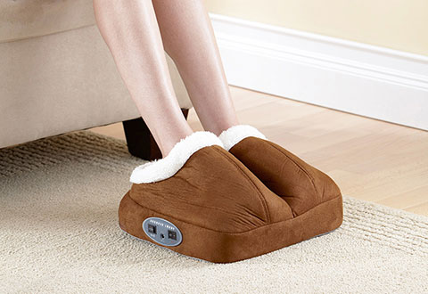 Warming Foot Massager Sharper Image