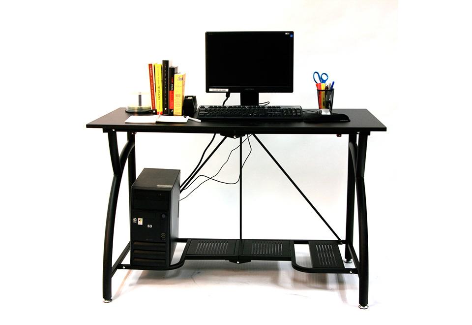 Folding Computer Desk Sharper Image