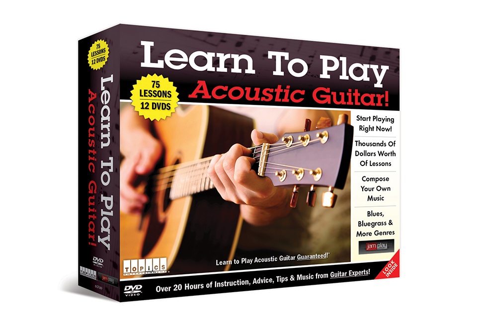 learn to play the acoustic guitar sharper image. Black Bedroom Furniture Sets. Home Design Ideas