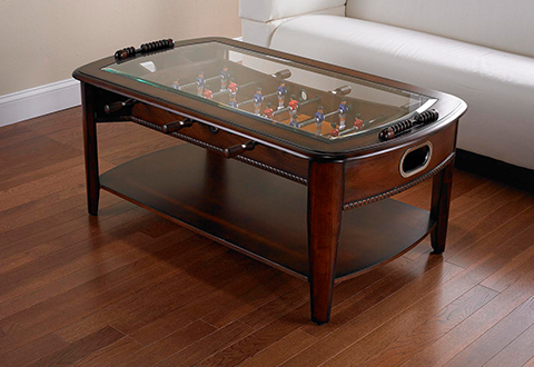 Coffee Table Converts Game Table Foosball Coffee Table Sharper Image